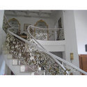 Designer Stainless Steel Stair