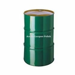 Acrylic Lacquer Polish, Packaging Type: Plastic Drum