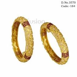 Meenakari Antique Bangles