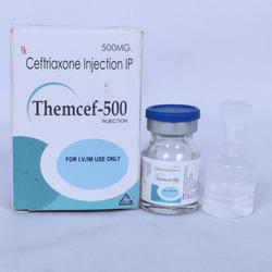 500 Mg Ceftriaxone Injection IP