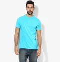 Blue Round Neck T-shirt 8220123