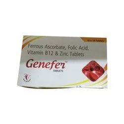 Genefer Tablets, Packaging Type: Box, Packaging Size: 10*10 Tablet