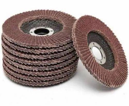 Round Zirconium Oxide Flap Disc, 70, Bansuri Abrasives   ID: 21134507397
