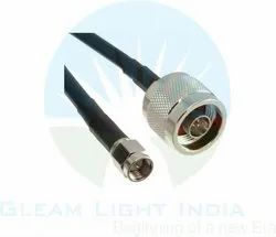 RF Cable Assemblies N Male to SMA Male in LMR 400