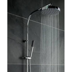 Brass Round Bathroom Overhead Showers