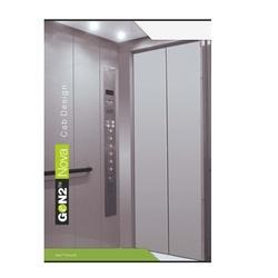 Otis Gen2 Nova Mid Rise Machine Room 13 Person Elevator