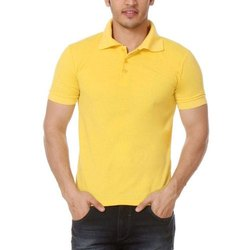 Plain Cotton Mens Polo T Shirts