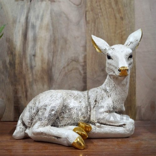 Vivaan Exim Deer Showpiece For Home Decor Living Room And Gifting