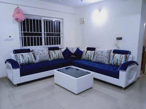 L Shape Sofa Set For Home Rs 85000