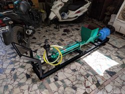 Alloy Steel Electric Cement Grouting Pump, Max Flow Rate: 40LPM