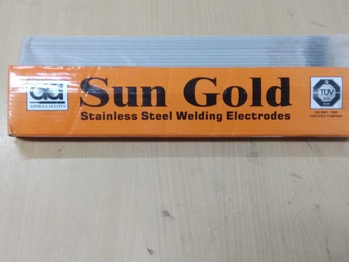 SUN GOLD Stainless Steel Electrode - SS 308 L 3.15 Mm, STANDARD