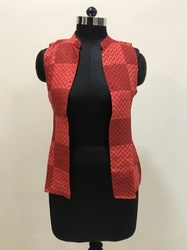 Geometrical Print Jacket