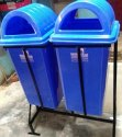 Dustbin With Dome Lid