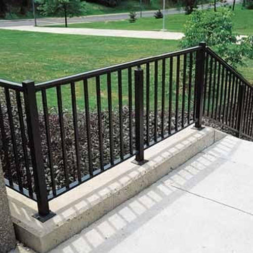 Balcony MS Pipe Railing