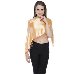 Gold Color Ruhana Ponchos