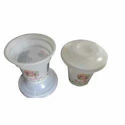 Plastic Disposable Printed Ice Cream Sundae Cup