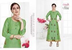 Afreen By Chhaya Modal Silk Long Designer Kurti