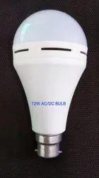 Round LED 12W AC/DC Bulb Non Warranty