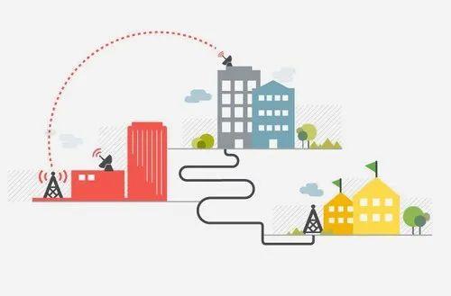 Blazenet Limited 4 To 100 Mbps Wireless Internet Leased Line, Wireless LAN