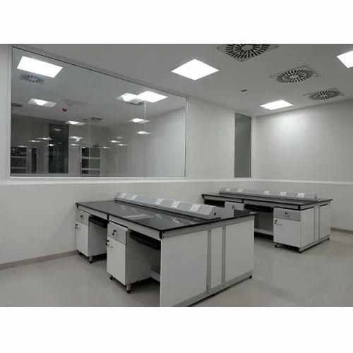 Grey Educational Lab Furniture