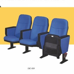 Blue Push Tip Up Auditorium Chairs