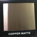 Copper Matte Designer Sheet