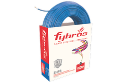FYBROS Blue 45 mtrs Multistrand Single Core Unsheathed Industrial Cable