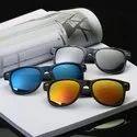 Acrylic Multicolor Fashion Sunglasses, Size: Medium
