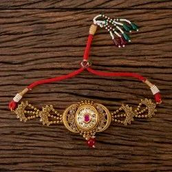 Antique Gold Plated Classic Baju Band 202353
