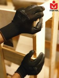 PU Coated Anti Static ESD Gloves