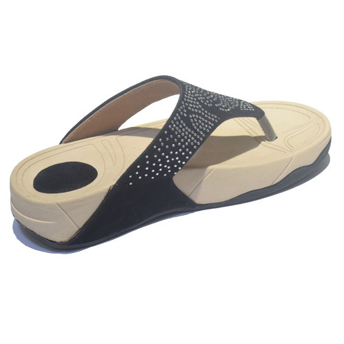 2658001f2423ad Ladies Synthetic Lycra Fashion Flip Flop Sandal