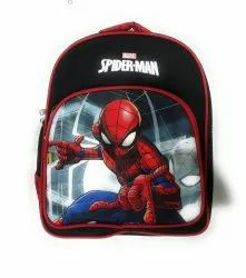 Sanchi Creation 20 L Priority Alice Black Spider-Man Printed Small Backpack