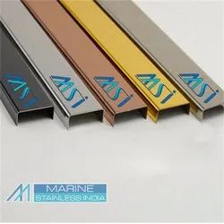 Stainless Steel PVD Coated Colour Profile