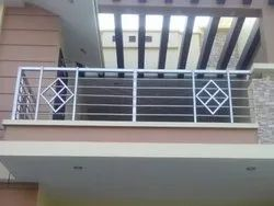 Black Steel Balcony Railing