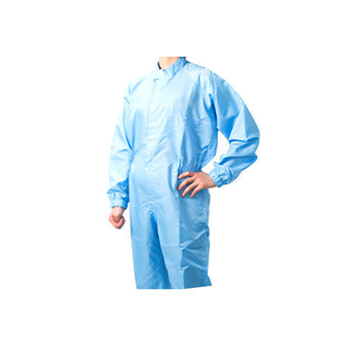 Unisex Blue Food Industry Worker Uniform, Size: Large