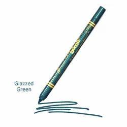 Color Fever Non Transfer Single Stroke Kajal Pencil - Glazzed Green