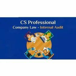 CS Professional Company Law Internal Audit Service