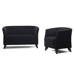 Wooden Living Space Sofa Set, Back Style: Tight Back