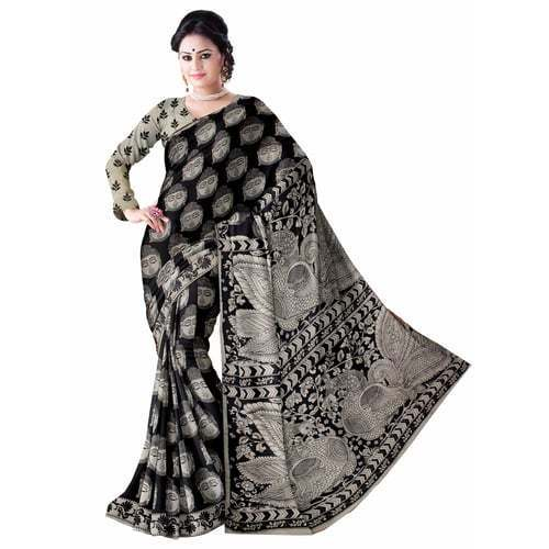 Kalamkari Silk Sarees With Blowse