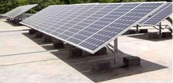 Rooftop Solar Panel Mounting Structure GI
