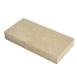 Rectangular Fire Resistant Fireclay Brick, Size: 9x4.5x3 Inch