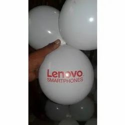 7 Inch White Printing Balloons