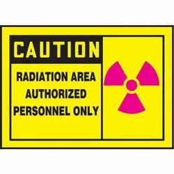Printed Safety Sticker