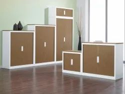 Modular Sunmica Coated Wooden Office Storage