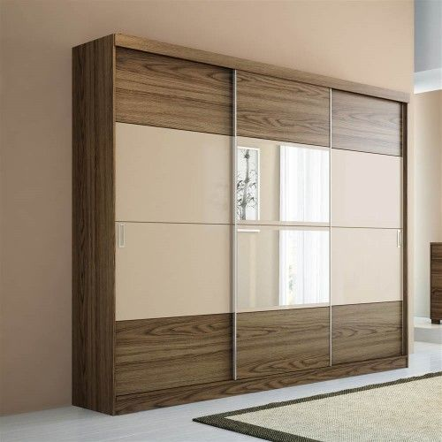 Bedroom Cupboards Inside Designs Brown Leather Bed Bedroom Ideas Bedroom Sets Canada Light Blue Bedroom Colours: Brown Modern Wooden Wardrobe, Rs 950 /square Feet, Mahis
