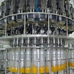 Maruti Machines Automatic Juice Bottle Packaging Machinery, Packaging Type: Bottle and Cans