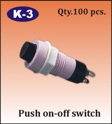 K-3 Push On - Off Switch