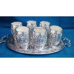 0a8aec792bc5 Silver Plated Glass in Jaipur