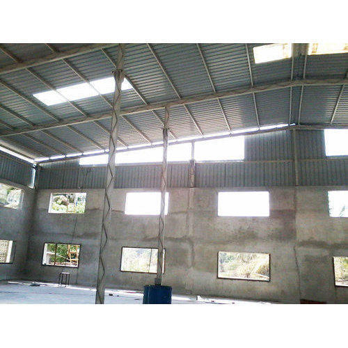 Polycarbonate Skylight Solutions Rs 105 Square Feet J P Construction Fabrication Id 4648700488