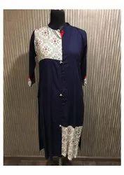Graceful Cotton Printed Kurti By Parvati Fabric